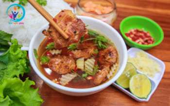 cach uop thit nuong bun cha 12